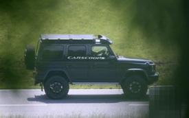 Mercedes-Benz G550 4x42 bất ngờ có thế hệ thứ 2 và đây là những tiết lộ đầu tiên