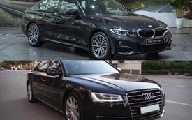 Chi 2,5 tỷ để sở hữu BMW 330i M Sport mới ra mắt hay chọn Audi A8 đời 2015