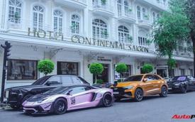 Dàn siêu xe, siêu sang trị giá gần 100 tỷ đồng tụ họp gây náo loạn Sài Gòn