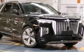 Hongqi E-HS9 - Xe Trung Quốc xuất trận đấu BMW X7