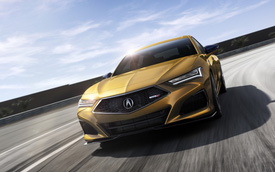 Ra mắt Acura TLX 2021 - 'Honda Accord hạng sang' đấu Mercedes-Benz C-Class