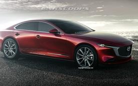 Thổn thức với Mazda6 thế hệ mới: Đẹp như xe sang, động cơ 6 xy-lanh, dẫn động cầu sau tham vọng ngang hàng BMW và Mercedes