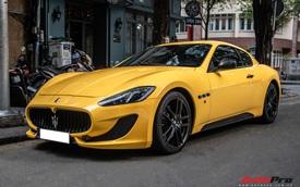 Đại gia Long An tậu Maserati GranTurismo MC Sport Line hàng hiếm 'siêu lướt' tại Việt Nam