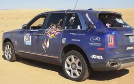Hơn cả quảng cáo: Dân chơi mang Rolls-Royce Cullinan vượt hành trình 3.200 km trên sa mạc một cách khó tin