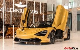 Diện kiến McLaren 720S Spider thứ 4 Việt Nam vừa về showroom khét tiếng sắp khai trương tại Sài Gòn: Một số chi tiết độc nhất vô nhị