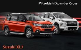 Ertiga thảm bại trước Xpander nhưng Suzuki XL7 đang đi trước Mitsubishi Xpander Cross vài bước tại Việt Nam