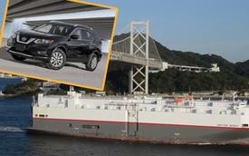 Chuyện chưa từng có: Hơn 2.000 xe Nissan lênh đênh ngoài biển vì kho bãi chật