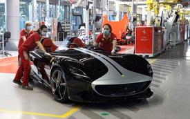 Hãng siêu xe Ferrari trở lại sản xuất sau đại dịch Covid-19