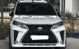 Rộ phong trào Toyota Rush độ phong cách Lexus LX570 SuperSport giá hơn 10 triệu đồng tại Việt Nam