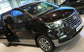 Lộ diện Hyundai Starex thế hệ mới: Nhiều điểm giống Santa Fe để đấu Kia Sedona