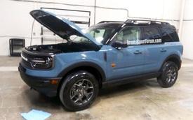 Đàn em Escape là Ford Bronco Sport có thể cho phép khách hàng tuỳ biến... lưới tản nhiệt?