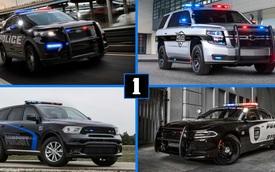 Cảnh sát Mỹ được sử dụng những dòng xe 'xịn xò' nào?