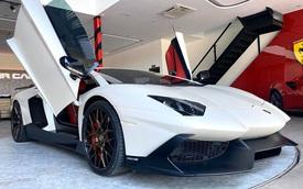 Vừa thay 'áo' mới, Lamborghini Aventador bản độ độc nhất Việt Nam bất ngờ xuất hiện tại showroom xe cũ