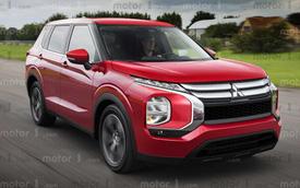 Lộ động cơ Mitsubishi Outlander thế hệ mới: Mạnh hơn hẳn bản hiện tại, đe doạ Honda CR-V
