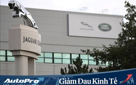 Jaguar Land Rover trượt dốc, cho nửa nhân viên nghỉ không lương