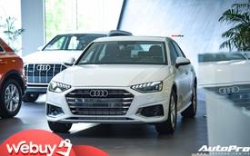 Audi A4 2020 ra mắt Việt Nam: Dùng tiện nghi đáp trả Mercedes-Benz C-Class và BMW 3-Series