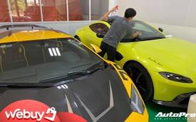 Đại gia Hoàng Kim Khánh chi hàng trăm triệu độ Aston Martin V8 Vantage trước tin đồn sắm thêm siêu phẩm McLaren Senna