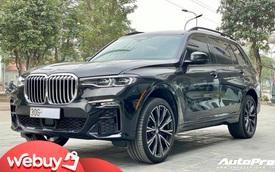 BMW X7 mới chạy 4.600 km đã được rao bán, mức giá gần 6,7 tỷ đồng gây tranh luận: 'Giá này thà mua xe mới'