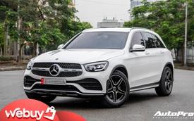 Mua xe chưa lâu đã ra phom mới, dân chơi Hà thành chi 250 triệu đồng lột xác Mercedes-Benz GLC 200 cũ thành GLC 300 AMG 2020