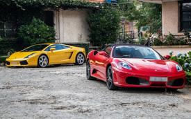Dàn siêu xe trăm tỷ của giới đại gia Sài Gòn đổ về Đà Lạt: Cường Đô La xuất hiện cùng chiếc Lamborghini đầu tiên Việt Nam