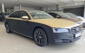 Qua thời đỉnh cao, Audi A8L bán lại chỉ 1,5 tỷ đồng dù treo biển 'thần tài nhỏ, thần tài lớn'