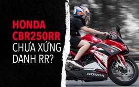 Người dùng đánh giá Honda CBR250RR: Làm thêm 4 triệu/tháng dư sức nuôi xe nhưng chưa xứng danh