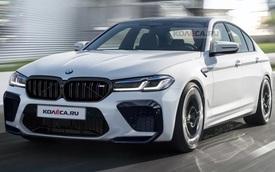 BMW M5 sẽ ra mắt vào 17/6 với thiết kế là đây