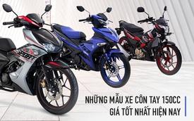 Loạt xe côn tay 150cc chính hãng giá từ 50 tới 80 triệu đồng mà bạn nên mua lúc này
