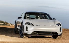 Siêu phẩm mới về Việt Nam Porsche Taycan lộ phiên bản mới thực dụng hơn