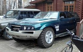Dân chơi Nga mất 7,5 năm để làm 'siêu' SUV: Kiểu dáng dị, hầm hố hơn Hummer, 'uống' xăng như nước lã