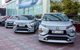 Mitsubishi Xpander bán vượt Suzuki Ertiga và XL7 cộng lại, bỏ xa doanh số bộ 3 xe 7 chỗ của Toyota
