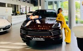 Sắm Porsche Cayenne 2020, hoa hậu Hương Giang tuỳ chọn riêng màu ngoại thất với giá hơn 70 triệu đồng