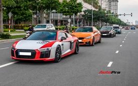 Dàn siêu xe, xe thể thao Nhật, Đức với màu sắc như tắc kè hoa hội ngộ cuối tuần tại Sài Gòn