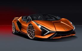 'Siêu bò' mạnh nhất lịch sử Lamborghini Sian FKP 37 mui trần chưa ra mắt nhưng đã cháy hàng