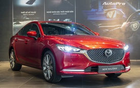 Ra mắt Mazda6 2020: Thêm loạt công nghệ, giá 'rẻ như hạng C'