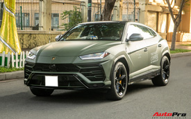 Lamborghini Urus của ông Đặng Lê Nguyên Vũ lần đầu lăn bánh trên đường phố - Ngôi sao của HTTTT 2020