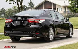 Xe hạng D bán chạy nhất tháng 1/2021: Toyota Camry chiếm 80% thị phần
