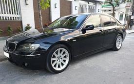 Khấu hao như BMW 750 Li 2007: Sau 13 năm giá xe rẻ hơn tiền đóng phí trước bạ khi mua mới