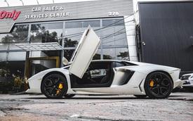Vừa về Việt Nam, Lamborghini Aventador LP700-4 mới cứng đã được chủ nhân độ ống xả khủng giá hơn 8.000 USD