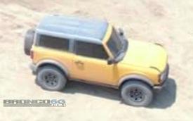 Ford Bronco lộ diện hoàn chỉnh trong buổi ghi hình mới nhất