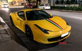 Ferrari 458 Italia 'khó gặp nhất Việt Nam' tái xuất, chủ nhân sở hữu nhiều siêu phẩm, có xe từng của Dũng 'mặt sắt'