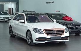 Độ cực độc, Mercedes-Benz S 450 Luxury phiên bản vàng hồng vẫn có giá bán lại rẻ hơn cả tỷ đồng dù mới chạy 12.000km