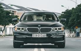 BMW 5-Series giảm giá sốc gần 400 triệu đồng, lần đầu dưới 2 tỷ, rẻ hơn E-Class, 'giẫm chân' đàn em 3-Series
