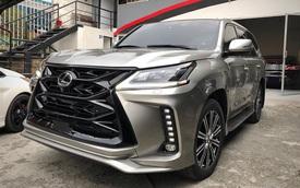 Lexus LX 570 MBS 2020 chào hàng nhà giàu Việt với giá trên 10 tỷ đồng, thêm chi tiết lộng lẫy như Rolls-Royce