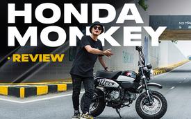 Rong chơi tháng ngày trên Honda Monkey như những chú khỉ lêu nghêu trên đường phố Việt