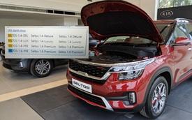 Lộ hình ảnh đồn đoán Kia Seltos sắp ra mắt tại Việt Nam với 4 phiên bản và 2 loại động cơ