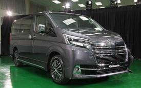 Toyota Granvia ra mắt tại Việt Nam: Giá từ 3,072 tỷ, nhập Nhật, 9 chỗ cho khách VIP