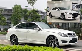 Có 850 triệu, an tâm chọn Mazda3 2020 hay 'liều' mua Mercedes-Benz C300 AMG Plus 7 năm tuổi