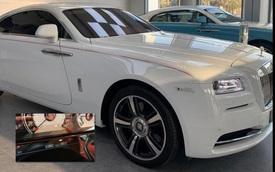Rolls-Royce Wraith 'lướt' tại Dubai được chào bán hơn 9 tỷ khi về Việt Nam - Xe siêu sang giá mềm cho giới nhà giàu