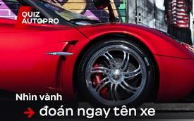 [Quiz] Thách đố fan xe: Liệu bạn có thể đoán đúng 10 bộ vành sau đây thuộc mẫu xe nào?